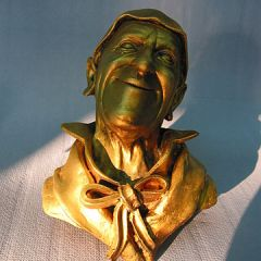 Grock d'or statue