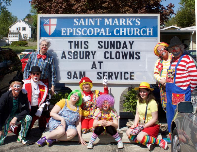 What is clown ministry?