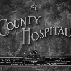 County Hospital (1932), starring Stan Laurel and Oliver Hardy