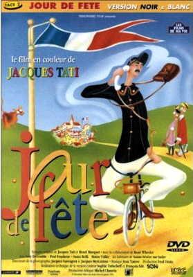 jour de fete - Jacques Tati - DVD - black and white version