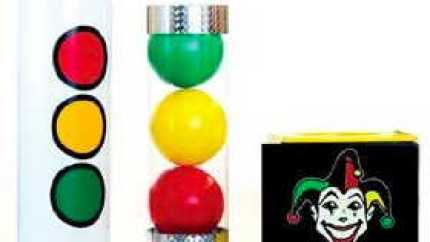 The Joker Tube - Magic Trick with 'How To' Instructions - aka. Strat-O-Sphere