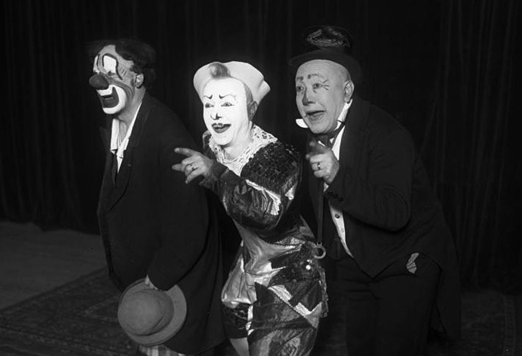 For Day 3 of National Clown Week - what's better than the three Fratellini Brothers?