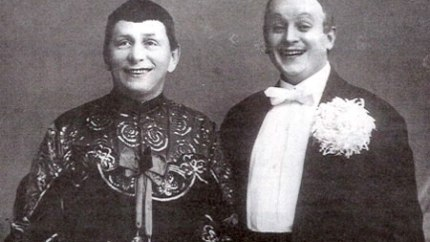 Bim Bom - Founder duo Bim-Bom I. Radunsky (left) with partner M. Stanevsky