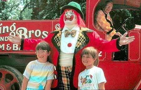 Jimmy Williams - circus photo