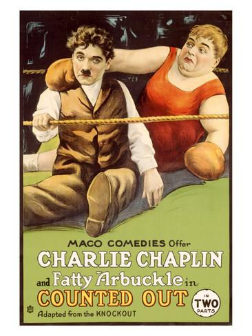 The Knockout - Charlie Chaplin, Fatty Arbuckle originally released June 11, 1914