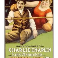 The Knockout, starring Charlie Chaplin, Fatty Arbuckle