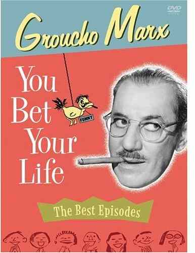 You Bet Your Life - The Best Episodes - starring Groucho Marx, with many of the best episodes, and some nice extras as well