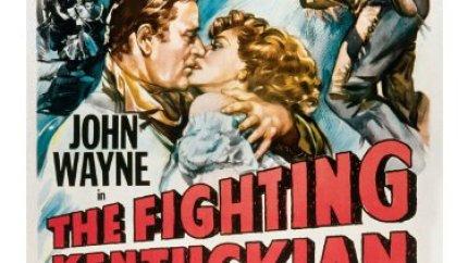 The Fighting Kentuckian (1949) starring John Wayne, Oliver Hardy, Vera Ralston