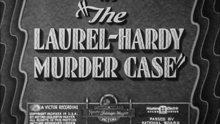 The Laurel-Hardy Murder Case