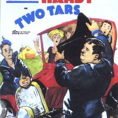 Two Tars (1928) starring Stan Laurel, Oliver Hardy, Edgar Kennedy, Charlie Hall, Thelma Hill, Ruby Blaine