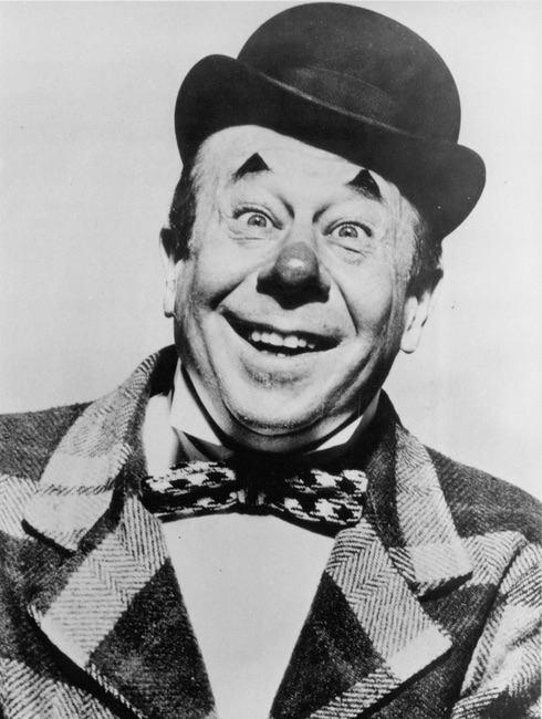 Bert Lahr, clearly a clown