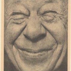 Smiling face of Bert Lahr