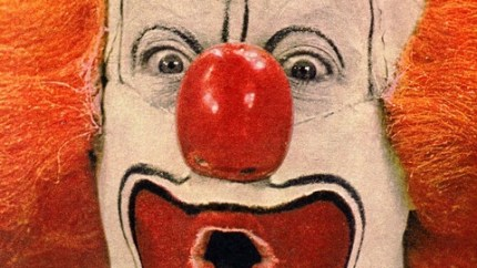Bob Bell as Bozo, cover of the Chicago Tribune
