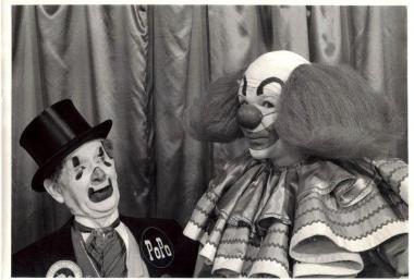 Count PoPo de Bathe and Bozo the Clown