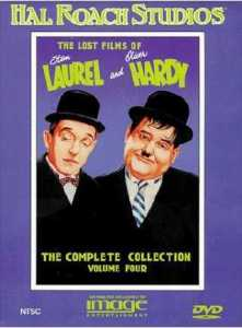 Laurel and Hardy - the lost films of Stan Laurel and Oliver Hardy - the complete collection - volume 4 - Hal Roach Studios - DVD - NTSC - distributed exclusively by Image Entertainment