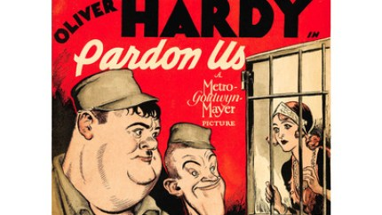 Pardon Us (1931) starring Stan Laurel and Oliver Hardy - the first Laurel and Hardy feature length movie