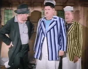 Saps at Sea - Richard Cramer, Oliver Hardy, Stan Laurel