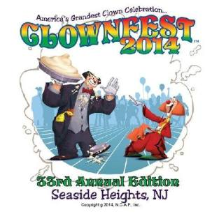 Greg De Santo and Toto in a poster for ClownFest 2014
