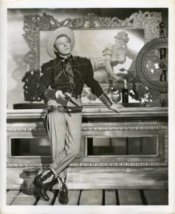 The Secret Life of Walter Mitty - Danny Kaye as a cowboy in one of the fantasy scenes