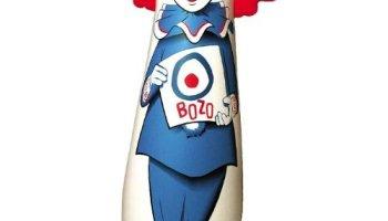 Bozo The Clown Punching Bag Famous Clowns