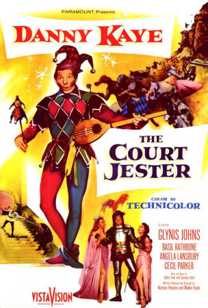 The Court Jester' (1955) starring Danny Kaye, Angela Lansbury, Glynis Johns, Basil Rathbone