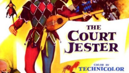 The Court Jester (1955) starring Danny Kaye, Angela Lansbury, Glynis Johns, Basil Rathbone