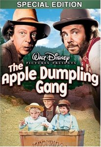 Walt Disney's The Apple Dumpling Gang, starring Don Knotts, Tim Conway, Bill Bixby, Susan Clark
