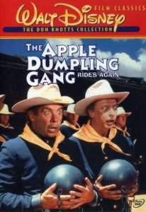 The Apple Dumpling Gang Rides Again, starring Tim Conway and Don Knotts