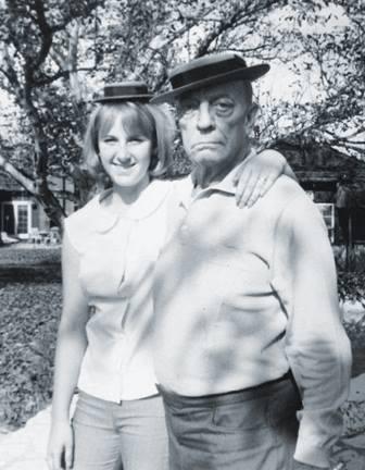 Buster Keaton and granddaughter