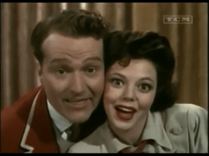 "Red Skelton in a musical number (""You take the high road"") in Bathing Beauty"