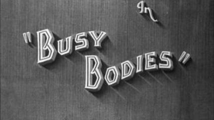Busy Bodies (1933) starring Stan Laurel, Oliver Hardy, Charlie Hall