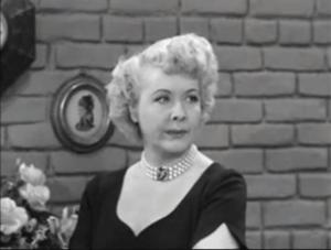 Fred and Ethel Fight - Ethel Mertz (Vivian Vance)