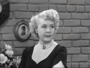Fred and Ethel Fight - Ethel Mertz (Vivian Vance)