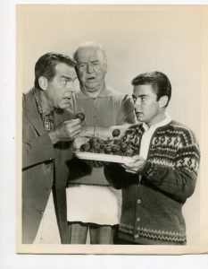 Fred MacMurray, William Frawley, and Tim Consadine in My Three Sons