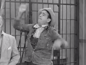 Tennessee Bound - Tennessee Ernie Ford conducting a square dance at the jail