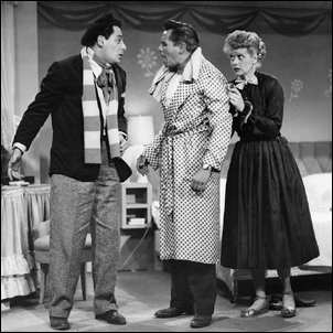 "The Adagio - Lucy's ""tutor,"" Desi Arnaz, Lucille Ball - I Love Lucy"