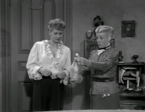 Lucy Plays Cupid - Lucille Ball and Bea Benaderet