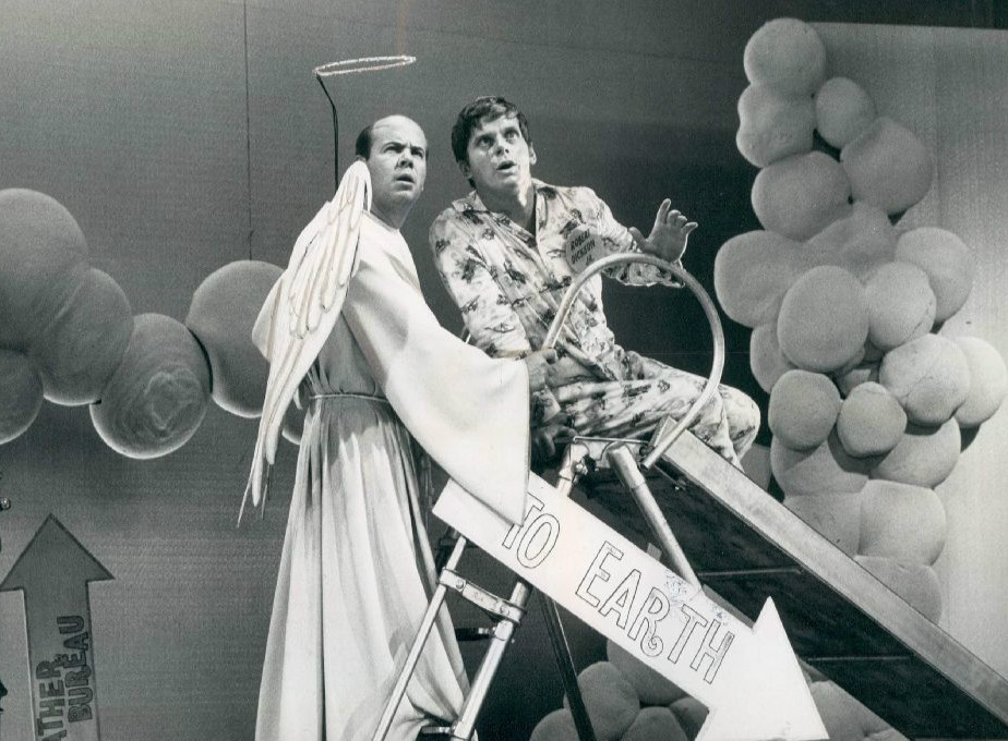 Tim Conway and Robert Morse in 1968