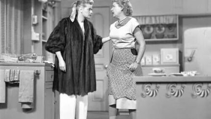 The Fur Coat - I Love Lucy - where Lucy becomes too attached to a new fur coat