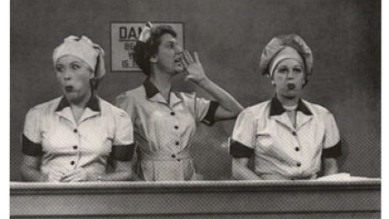 Job Switching - one of the classic I Love Lucy episodes - Lucy and Ethel in the chocolate factory - speed it up a little!