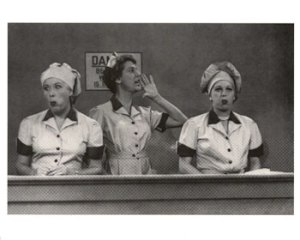 Lucy and Ethel in the chocolate factory - speed it up a little!