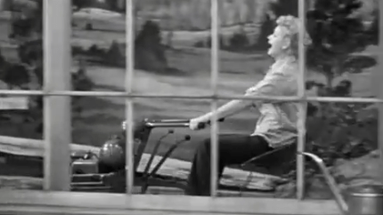Lucy Rases Tulips - I Love Lucy