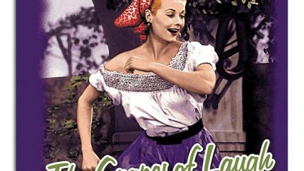 from the I Love Lucy episode, Lucy's Italian Movie, Vintage Lucy - The Grapes of Laugh