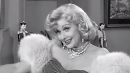 Ricky's Movie Offer - Lucille Ball as Marilyn Monroe