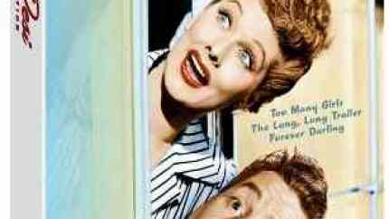 The Lucy & Desi Collection starring Lucille Ball and Desi Arnaz
