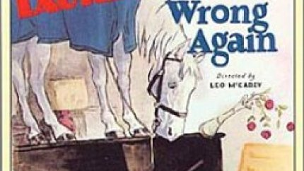 Wrong Again (1929), starring Stan Laurel, Oliver Hardy