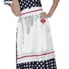 Official 'I Love Lucy' costume - the Lucy Ricardo dress (polka dot dress, apron with imprinted insignia) made famous by Lucille Ball