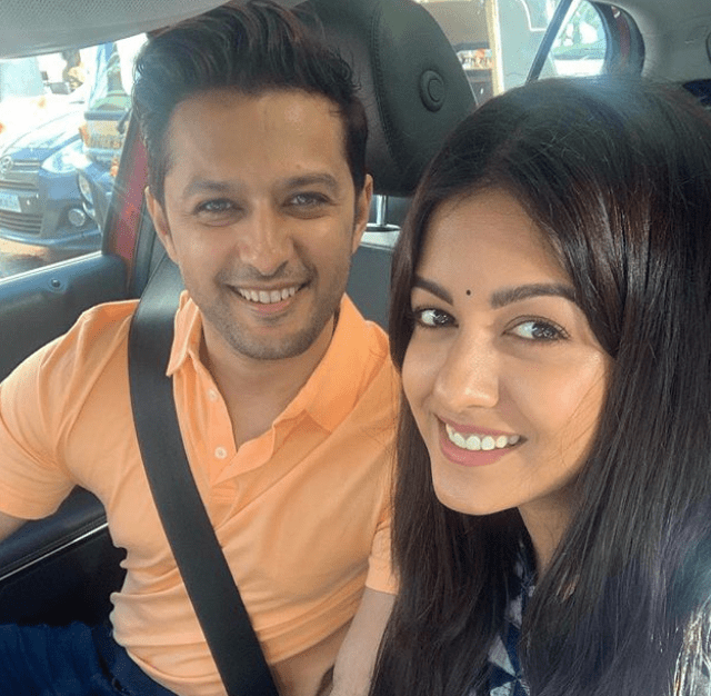 Ishita Dutta & her husband Vastal Sheth