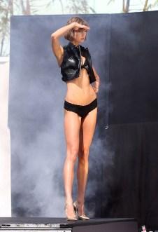 Karlie Kloss - Leather Vest