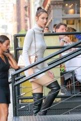 Bella Hadid - High Boots